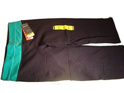 Kirkland Signature Reversible Yoga Capri Pants Black with Green Waistband Small