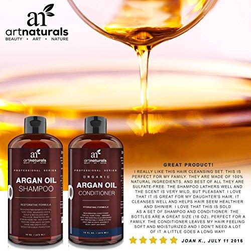 Art Naturals Organic Moroccan Argan Oil Shampoo And Conditioner Set Check Back Soon Blinq