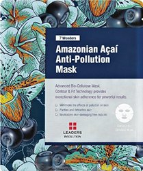 7 Amazonian Acai Anti-Pollution/Premium Grade Coconut Gel Mask (10 Sheet)