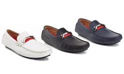 Jackson Slipon Casual Loafers: Navy/8