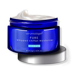 serumtologie PURE Whipped Chiffon Daily Facial Moisturizer Cream. New Formula! Huge 4 OZ Jar.