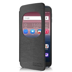 "Alcatel Cell Phone Cradle for 5.5"" ALCATEL ONETOUCH IDOL 3 - Retail Packaging - Dark Grey"