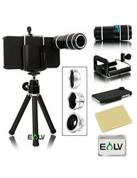 E LV iPhone 5S Accessories Camera Lens Kit