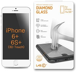 Lab C 306 0.2mm Anti Scratch Ballistic Tempered Glass Screen Protector for iPhone 6 Plus (5.5-Inch)