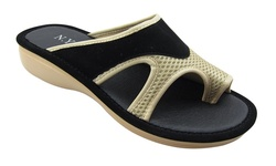 NY VIP Comfort Women's Sandals - Black - Size: 6.5