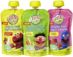 Earth's Best Organic Fruit Yogurt Smoothie Variety Pack - 6 Count