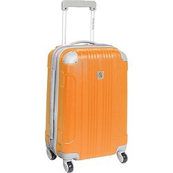 "Beverly Hills Country Club Newport 21"" Hardside Spinner Carry On: Orange"