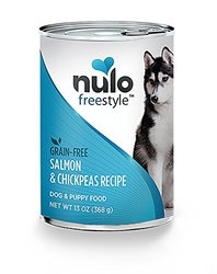 Nulo Can Dog Salmon Grain-Free Dry Food (Case of 12), 13 oz