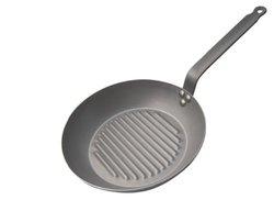 De Buyer Mineral 12.5-Inch Grill Pan