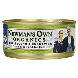 Newman's Own Organic Grain Food Canned Cat Food - Turkey - 5.5 oz.