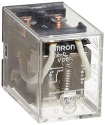 Omron General Purpose Relay - 24 VDC Rated Load Voltage (LY4-0-DC24)