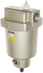 "SMC Aluminum Compressed Mainline Air Filter - Size: 1""(AFF22C-N10D-T)"