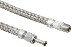 Hosemaster Annuflex Stainless Steel 316 Flexible Hose Assembly - Size: 24""