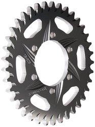 Vortex 37 Tooth Aluminum Rear Sprocket- Silver