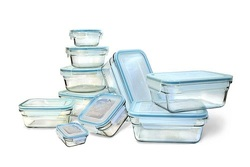Glasslock 20-Piece Microwave & Oven Safe Storage Containers Set