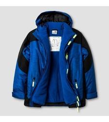 Champion Boys' C9 System Jacket Printed - Blue - Size: Large