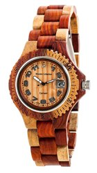 Tense Inlaid Multicolored Natural Wood Watch Hypoallergenic G4100I ANLF