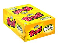 Juicy Exploding Cubes Trolli Sour Brite Blasts - 2 oz - 12 ct