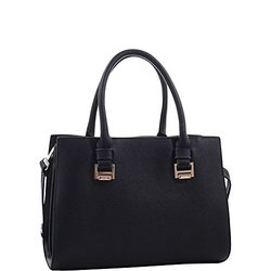 MKF Collection Chevy Handbag - Black