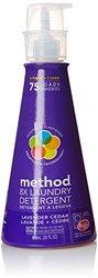 Method 8x Concentrated Laundry Detergent, Lavender Cedar - 75 Loads