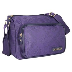 Jacki Design Essential Messenger Bag - Purple