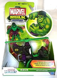 Marvel Playskool Super Hero Adventures Vehicle Hulk with Helicopter