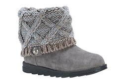 Muk Luks Women's Patti Ankle Boots - Moccasin - Size: 9