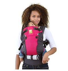 LILLEbaby 6-Position Complete Airflow Baby&Child Carrier - Charcoal/Berry