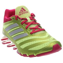 adidas Performance Women's Springblade W Running Shoes - Yellow/Pink - Size: 11