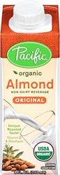 Pacific Foods Organic Almond Milk Original - 8 Ounces - 12 Pack
