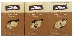 Back to Nature Crispy Wheat Crackers - 8 oz