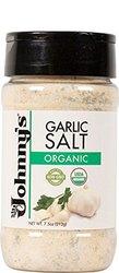 Johnny's Garlic Salt Og2 1 Case/Pack of 6 - 7.5OZ