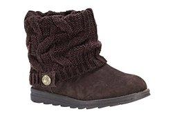 Women's Patti Boots: Dark Brown/size 6