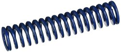 Medium Duty Spring With Closed & Ground Ends - Blue - Pack of 10
