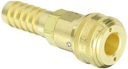 Hansen Eaton Brass ISO-B Interchange Pin Lock Pneumatic Fitting (5900SL)