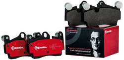 Brembo Rear Disc Brake Pad for Vehicles (P30008N)