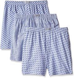 Chereskin Men's Knit Boxer Shorts - 3 Pack - Multi - Size: Medium