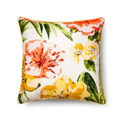 "Threshold Floral Throw Pillow - Multi - Size: 18""x 18"""