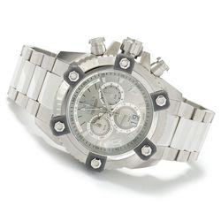 Men's 63mm Grand Octane Swiss Made Quartz Chronograph Watch- Golden/Black