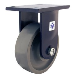 RWM Casters 95 Series Plate Caster with Roller Bearing