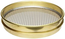 "Advantech Brass Test Sieves - Size: 12"" Dia"