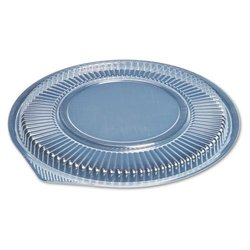 Genpak Microwave Safe Round Container Lid - Clear