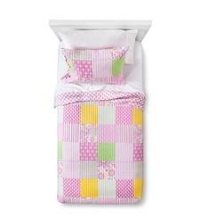 Sheringham Road Bridgette Quilt Set - Pink - Size: Twin