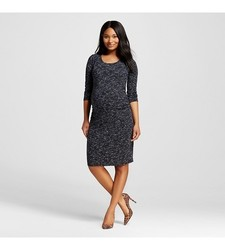 Liz Lange Women's Maternity Spacedye T Shirt Dress - Size: Small