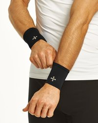 2 Pack Copper Infused Compression Right Wrist Sleeves - Size: S/M