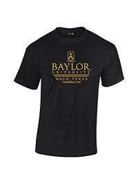 NCAA Baylor Bears Classic Seal T-Shirt, Large, Black