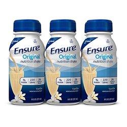 Ensure Vanilla Nutrition Shake - 8oz - 6 Pack