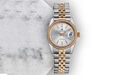 Empress Women's Jeweled Stainless Steel Bracelet Watch - Silver (EMPEM1505)