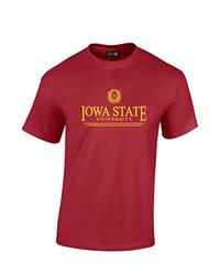 NCAA Iowa State Cyclones Classic Seal T-Shirt, XX-Large, Cardinal