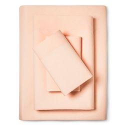 Room Essentials Bed Sheet Set w/ Storage Pocket -Coral Gables -Sz: Twin XL